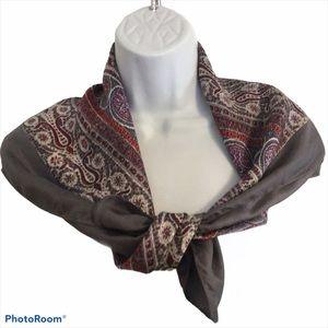 Liberty of London Paisley scarf 1940-50's …